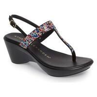 Athena Alexander Womens Dakkota Split Toe Casual Platform Sandals
