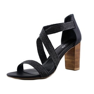 Charles By Charles David Emily Women Open Toe Synthetic Black Sandals