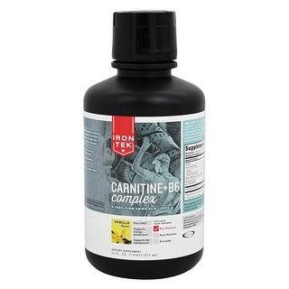 Iron Tek L-Carnitine Liquid Vanilla 16-ounce Liquid