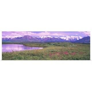 """""""Denali National Park AK"""" Poster Print"""