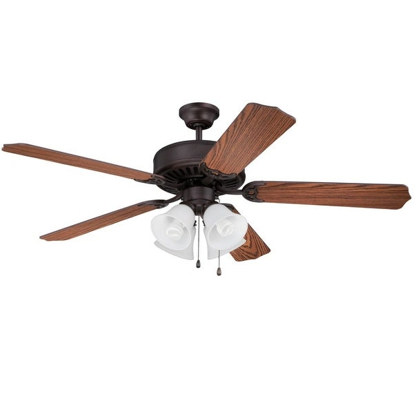 Shop craftmade c203 pro builder 203 42 or 52 5 blade ceiling fan craftmade c203 pro builder 203 42 or 52 5 blade ceiling fan light aloadofball Image collections