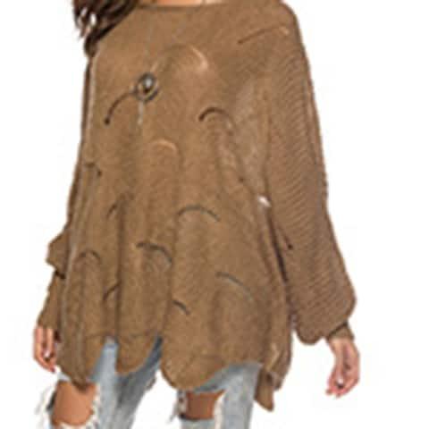 Ol Commuter Sweater Round Neck Sweater Female