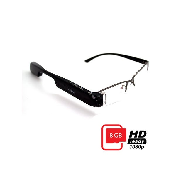 DigiOptix Motus 8GB 1080p Video Bluetooth Smart Glasses