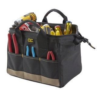 CLC 1161 Standard BigMouth Tool Bag, 14 Pockets