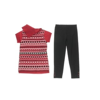Pogo Club Girls Sequined Pant Outfit - M