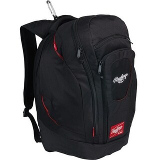 Rawlings Legend Pro Backpack - Black - LPBK-B
