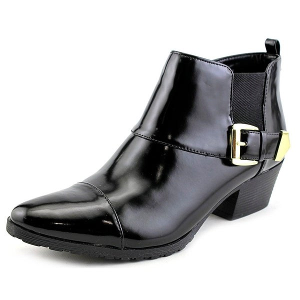 Bandolino Tasya Round Toe Synthetic Ankle Boot