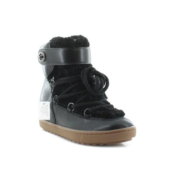 Coach Monroe Women's Boots Black/Black