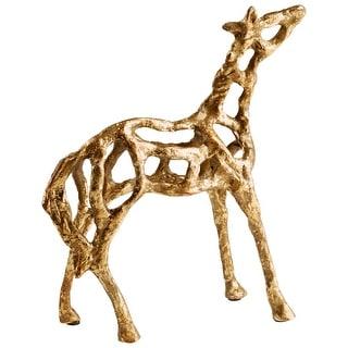 Cyan Design 09100  Ponder Iron Horse Statue - Gold