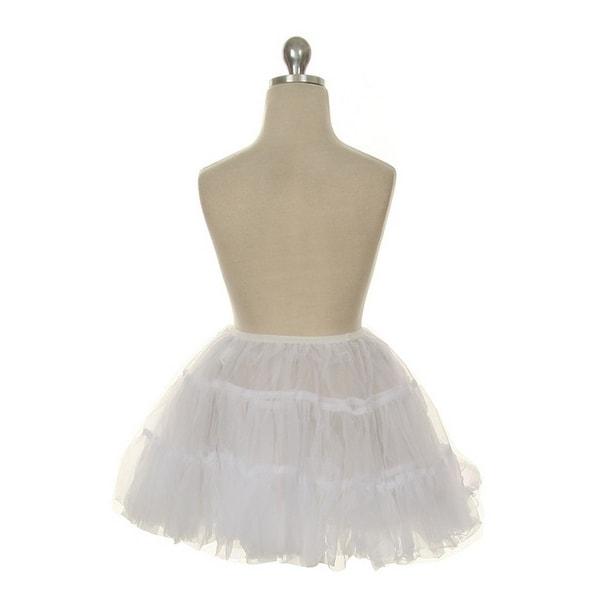 Kids Dream White Half Length Petticoat Slip Girls 2T