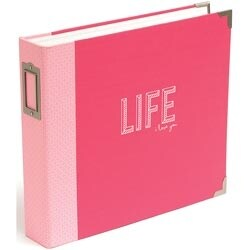 """Coral Edition - Project Life D-Ring Album 12""""X12"""""""