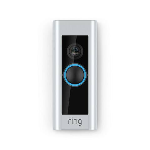 Ring - Video Doorbell Pro - Satin Nickel - Satin Nickel