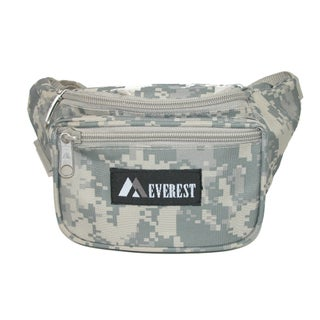 Everest Fabric Multi Pocket Waist Pack (More options available)