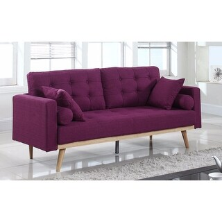 Link to Tufted Linen Mid-century Modern Sofa Similar Items in Sofas & Couches