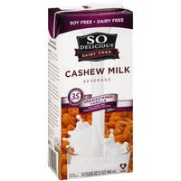 So Delicious Cashew Milk Beverage - Unsweetened Vanilla - Case of 6 - 32 Fl oz.