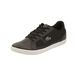 Lacoste Mens Strideur 116 Sneakers in Black