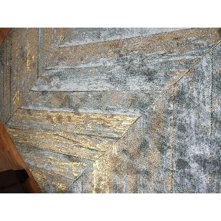 Persian Rugs Rustic Wood Floor Gray Area Rug 7 10 X 10 6