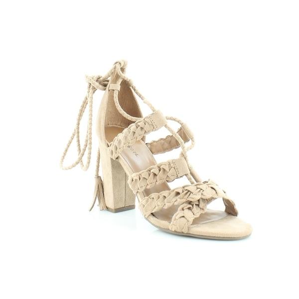 Pink & Pepper Bazaar Women's Sandals & Flip Flops Taupe - 9