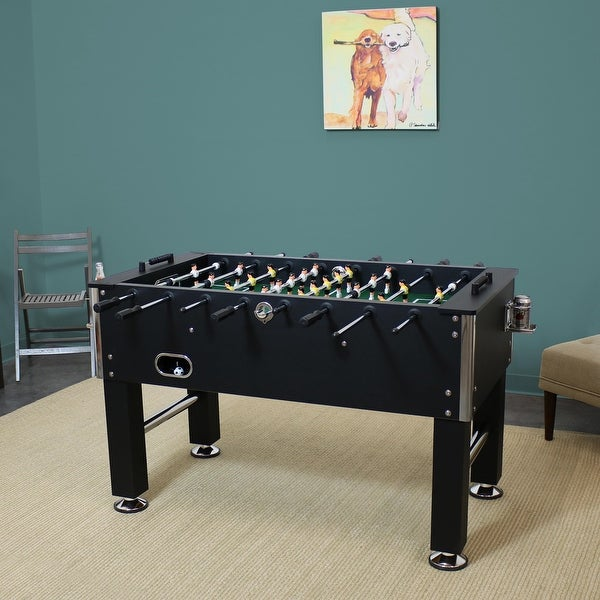 """55"""" Foosball Game Table with Drink Holders - Sports Arcade Soccer. Opens flyout."""