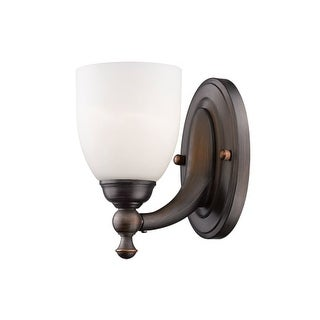 "Millennium Lighting 621 Single Light 4-1/2"" Wide Bathroom Sconce with Glass Shade"