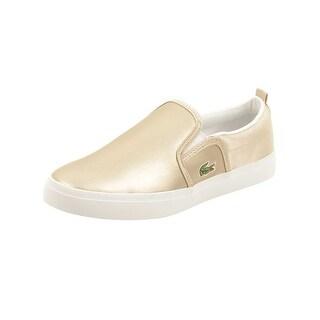 Lacoste Youth Gazon 218 1 Sneaker