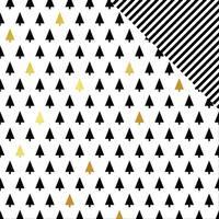 "Joyful Foiled Double-Sided Cardstock 12""X12""-Trees"