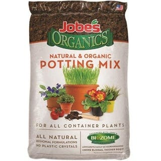 Easy Gardener 08708P Jobes Organic Potting Mix, 8 Quart|https://ak1.ostkcdn.com/images/products/is/images/direct/7648ed02213770559eddeb74dfb17f7188df597e/Easy-Gardener-08708P-Jobes-Organic-Potting-Mix%2C-8-Quart.jpg?impolicy=medium