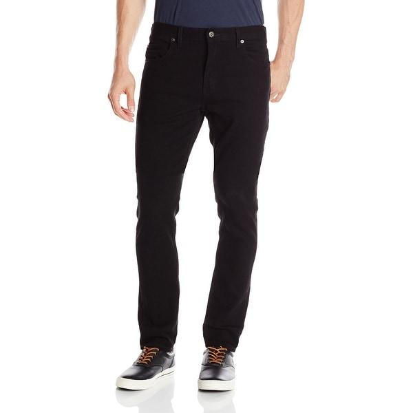 a1f6a0bc5b Shop Dickies Jet Black Mens Size 31x32 Slim-Fit Skinny Stretch Jeans ...