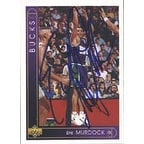 Eric Murdock Milwaukee Bucks 1994 Upper Deck Autographed Card This item comes with a certificate of authenticity from