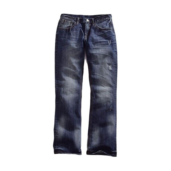 Tin Haul Western Denim Jeans Men Jagger Bootcut Dk