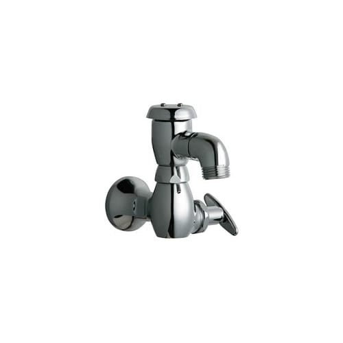 Chicago Faucets 952-XK Wall Mounted Hose Faucet with 3/4\