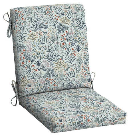 Arden Selections Craft Outdoor 44 x 20 in. High Back Dining Chair Cushion