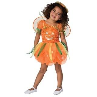 Pumpkin Pie Infant Costume Dress - Orange