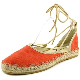 Free People Marina Lace Up Round Toe Suede Espadrille