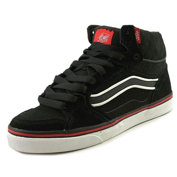 0c80735bbd Shop Vans Owens Hi Vulc MU Round Toe Leather Skate Shoe - Free ...