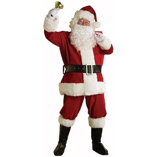 Regal Deluxe Plush Santa Suit Adult Costume XX-Large