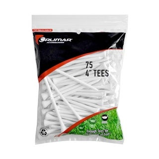 Orlimar 4 Inch Golf Tees 75 Pack White