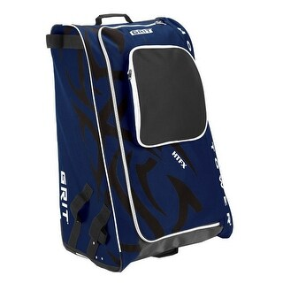 "Grit Inc HTFX Hockey Tower 36"" Wheeled Equipment Bag Navy HTFX036-NY (Navy) - 36''h x 23''w x 18''d"
