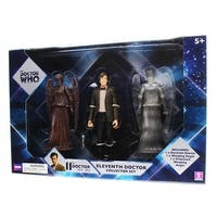 """Doctor Who 5.5"""" Action Figure Set: 11th Doctor , Weeping Angels - multi"""