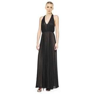Alice & Olivia Morris Pleated T-Back Jumpsuit - 4