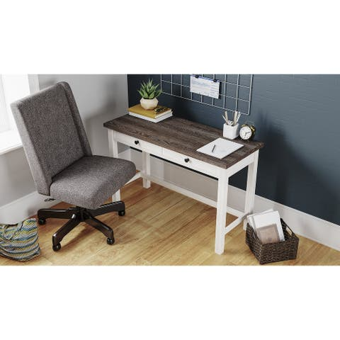 Dorrinson Casual Home Office Desk, Smoke