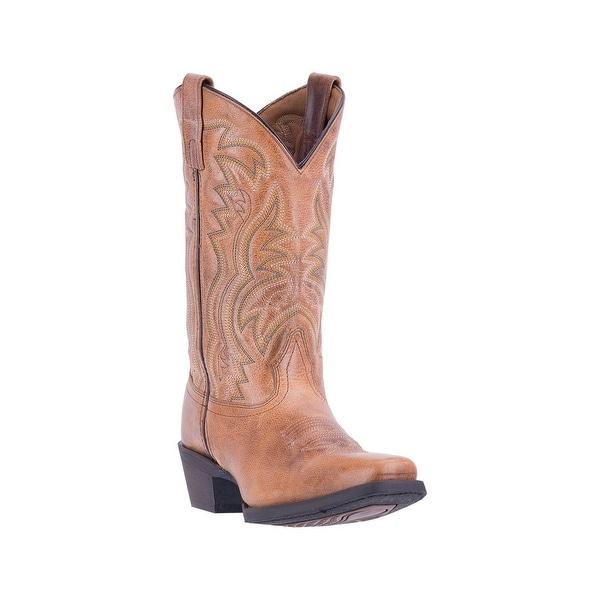Laredo Western Boots Womens Christine Stitched Leather Tan