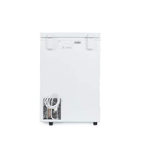 """Commercial Cool Chest Freezer Stand Up 3.5 Cubic Feet, White - 7'10"""" x 10'6"""""""