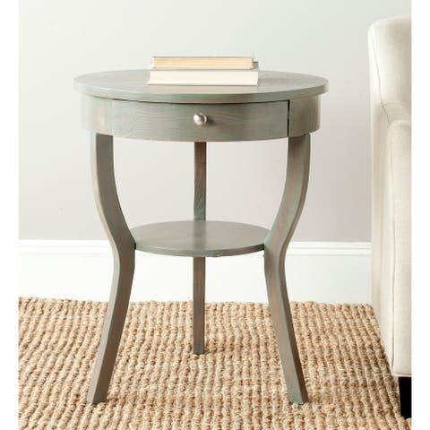 "SAFAVIEH Kendra Ash Grey End Table - 22"" x 22"" x 30.3"""