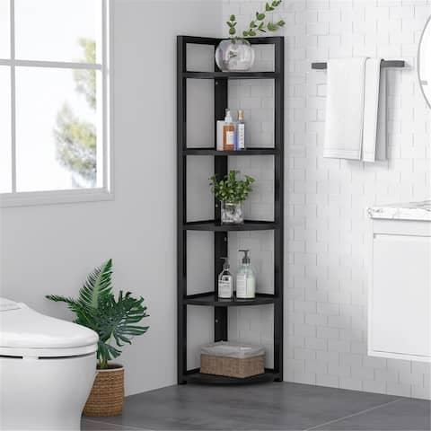5 Tier Corner Shelf, Corner Storage Rack Plant Stand