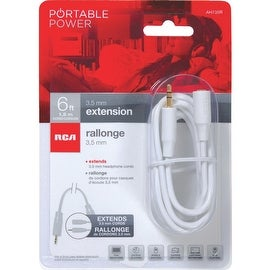 RCA 6Ft 3.5Mm Xtension Cable