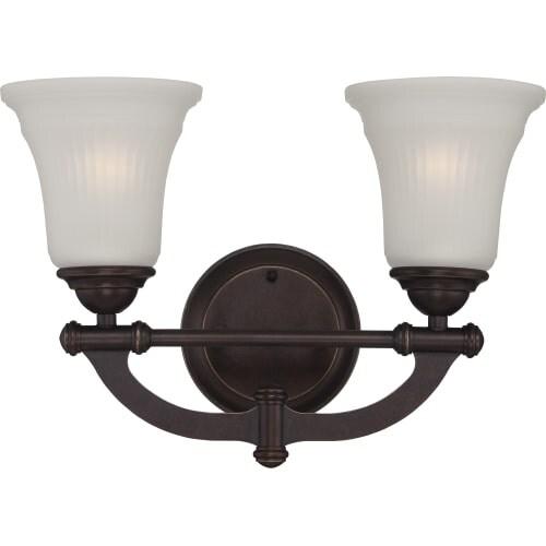 Nuvo Lighting 60/5312 Monroe 2 Light Bathroom Vanity Light