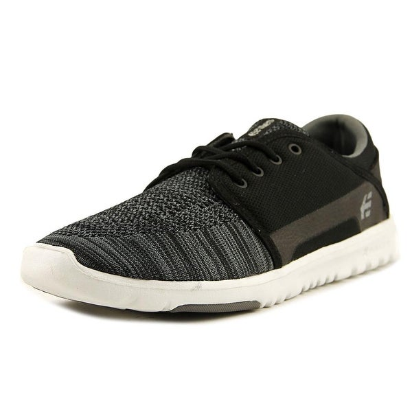 Etnies Scout YB Men Black/Grey Skateboarding Shoes