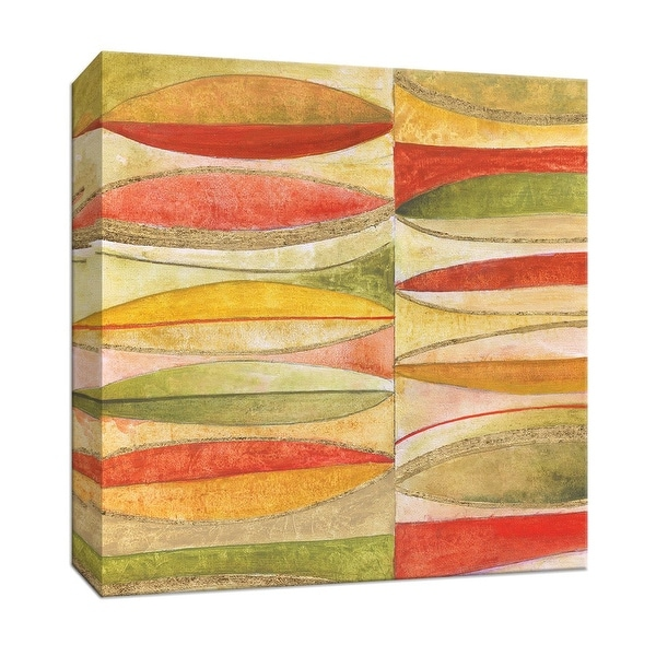 """PTM Images 9-147123 PTM Canvas Collection 12"""" x 12"""" - """"Oval Mosaic"""" Giclee Patterns and Designs Art Print on Canvas"""