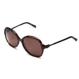 John Galliano Women's Oversized Frame Sunglasses Tortoise - Brown - Small